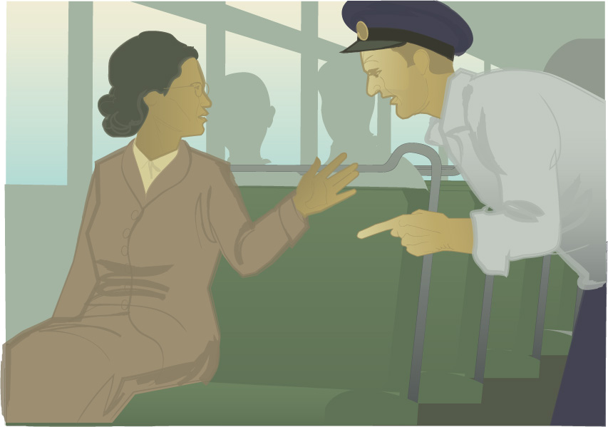 Rosa Parks, illustration